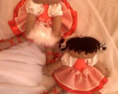 Boneca Daminha de Honra personalizada