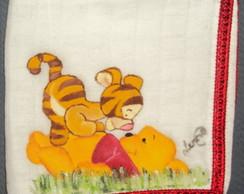 Fralda de boca ursinho pooh e tigr�o