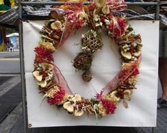 guirlanda de parreira com flores II