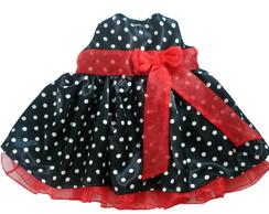Vestido Minnie Preto 1003
