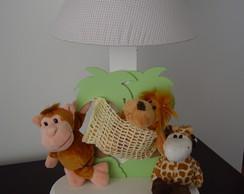 (AJO 0053a) Abajur safari