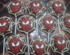 Pirulitos De Chocolate homem aranha