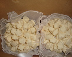 Buqu� de marshmallows branco