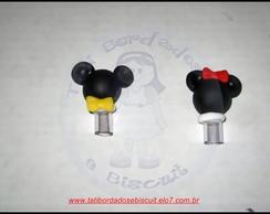 Ponteira De L�pis Mickey e Minie