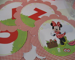 Banner Dimensional Minnie PickNic