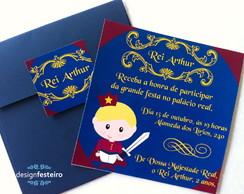 Convite Rei Arthur