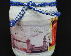 Vidrinho Decorado Londres II