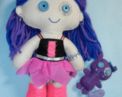 Monster High de feltro - Spectra