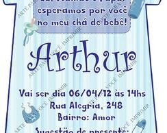 Arte de Convite Arthur