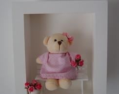 (MA 0135) Quadro maternidade ursa