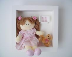 (MA 0134) Quadro maternidade boneca