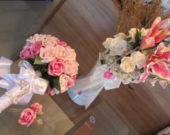 Bouquet noiva & Vaso de flores I