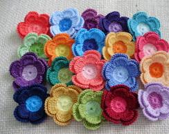kit com 20 flores - tom tom