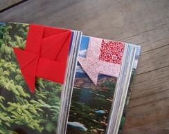 kit marca p�gina peixe-vermelho&floral