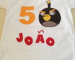 Body Ou Camiseta  ANGRY BIRDS