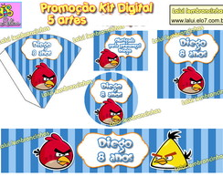 Kit Festa Digital - ANGRY BIRDS