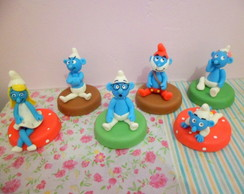 Smurfs Potes decorados