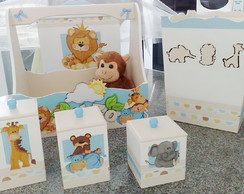 Kit Higiene Beb� Safari