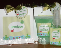 Kit Sacolinha + Home Spray e �lcool Gel