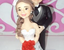 Casal De Noivinhos Personalizados