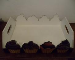 Bandeja Em Mdf - cupcakes