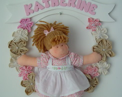 (MA 0104) Enfeite maternidade boneca
