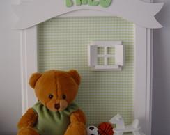 (MO 0189) Quadro maternidade urso