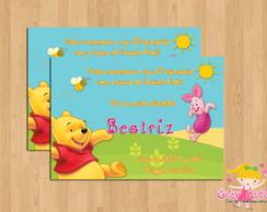 Convite Ursinho Pooh