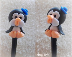 L�pis Decorado: Pinguim