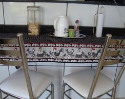 Kit de cozinha com galinhas (JU)