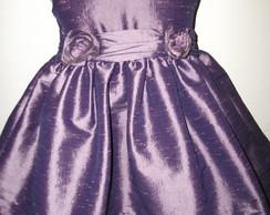 vestido de tafet� UVA CDG: 4978 PROMO��O