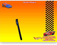 Hot Wheels Quadro M�gico