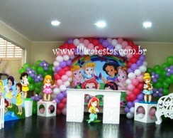 Decora��o Clean Princesas Baby / SP