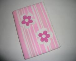 "Caderno decorado  ""Flor"""