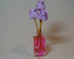 Lembrancinha mini aromatizador origami