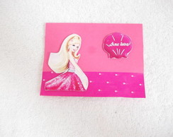 CONVITE PERSONALIZADO POP UP 3D BARBIE