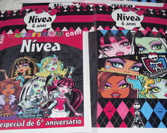 Revistinha De Colorir Monster High