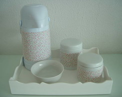 (KT 0046) Kit higiene porcelana/ 5 pe�as