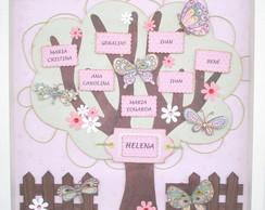 �rvore Geneal�gica Menina - AG1315