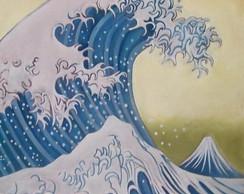 Releitura de A Grande Onda de Kanagawa