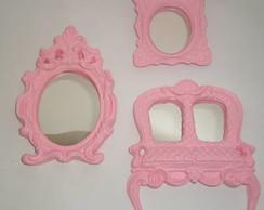 Trio Provence rosa claro