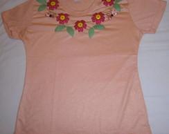 Camisa Patchwork Flores