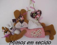Guirlanda coelha anjinho!!