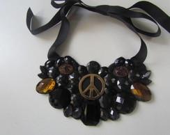 Maxi colar PEACE