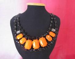 Maxi colar NEON laranja
