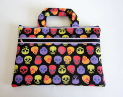 Capa Para Note/netbook - Skulls Color