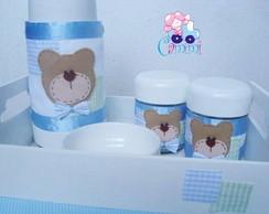 Kit Higiene Ursinho Azul