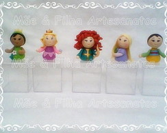 Caixa Acr�lico Mini Princesa