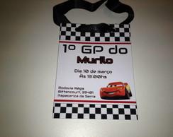 Convite Credencial Carros