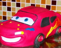 Bolo Rel�mpago McQueen - Carros